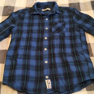 B2G1! Abercrombie Kids Boys Flannel 11/12